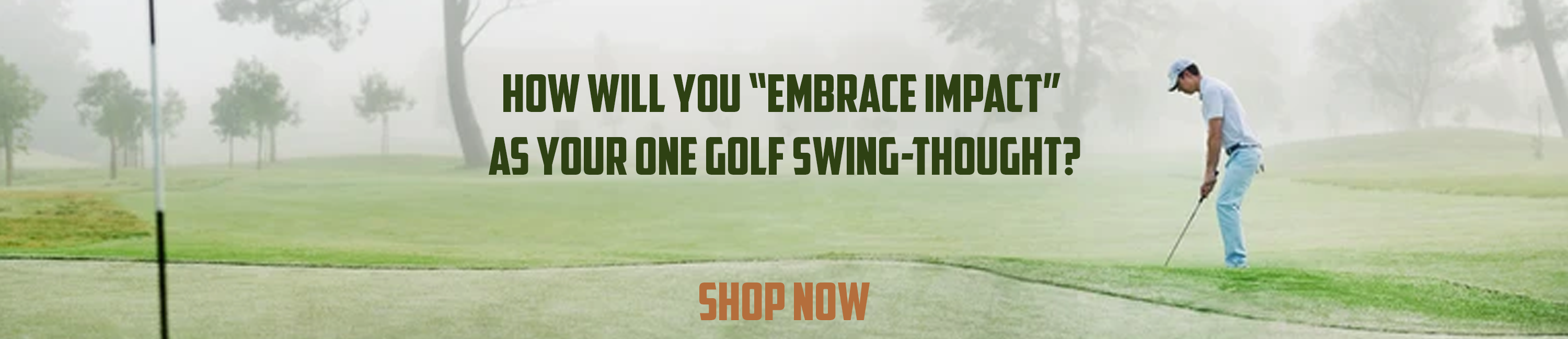 Impact Swing thought